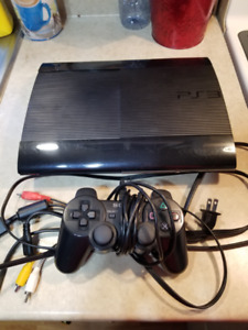 Ps3 with 20 games, cords and 1 controller $200 OBO