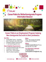 Career Paths for Skilled Immigrants - Information Session