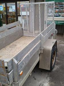 4x8 utility trailer w/ ramp