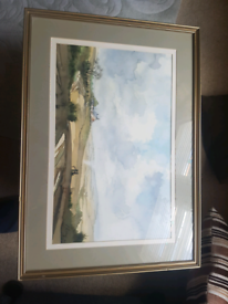 Alnwick Moor Watercolour Original Painting