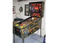 Pinball machine wanted! Any condition considered, will pick up, and paycash