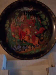 3 Russian Themed Plates - Bradford Boxes and COAs Cambridge Kitchener Area image 3