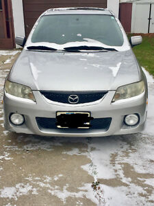 2002 Mazda Protege5 Hatchback + winter tires