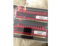 G-Skill 4GBx2 DDR3- 1333mhz