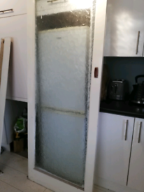 Glazed sliding door