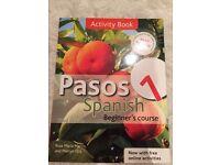 "Spanish Beginner's textbook ""Pasos"""