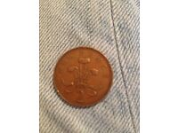 New pence coin