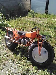 Rokon Trailbreaker 2x2 motor tractor.