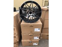 "4 18"" alloy wheels Alloys Rims tyres 5x120 BMW 1 2 3 4 series m sport"