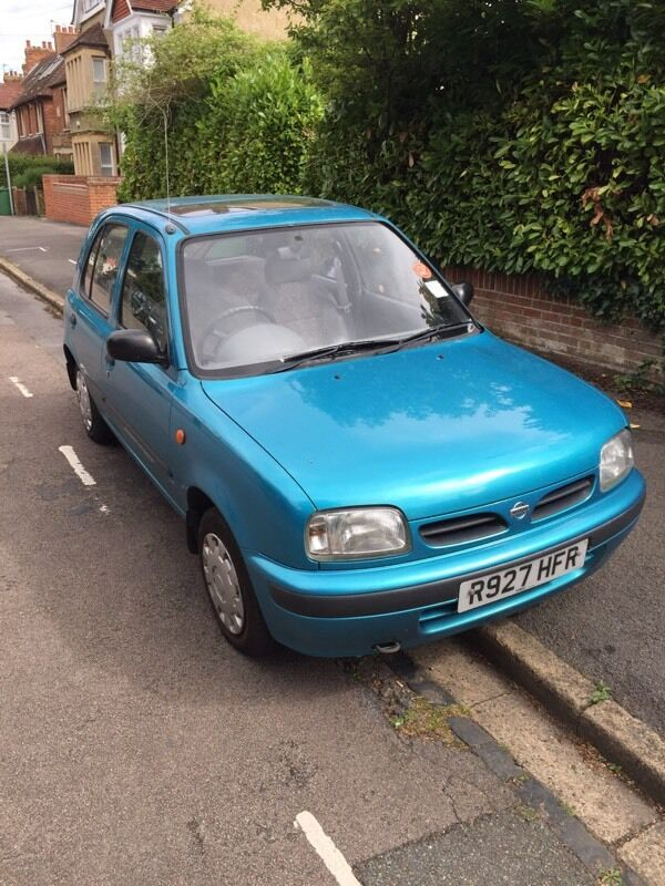 1998 r reg nissan micra 1 0 in headington oxfordshire. Black Bedroom Furniture Sets. Home Design Ideas