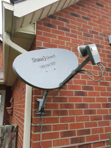 Shaw Direct HD (2) Receivers and dish