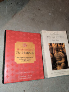 Art of War and The Prince