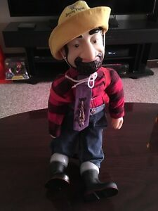 Signed Autographed Jimmy Flynn Doll