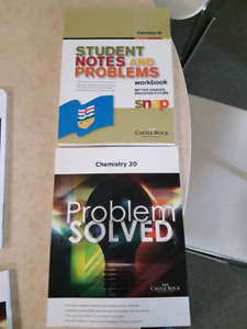 Castle Rock Chemistry 20 problem study books