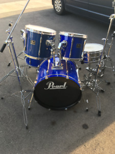 Pearl Export 5 Piece Kit & Cymbals