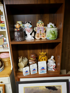 Cookie jars for sale as lot our individual