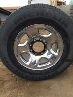 Dodge truck tires and rims
