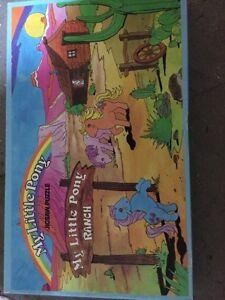 My little pony jigsaw puzzle 1983 London Ontario image 1