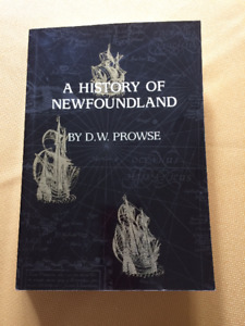 A History of Newfoundland by DW Prowse
