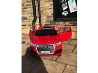 Audi Q7, Red, Parental Remote & Self Drive, 12, Free Numberplate, Ride-On