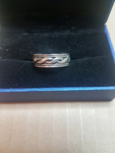 REAL SOLID STERLING SILVER RING