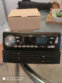 Kia Sportage 2005 Genuine JVC CD player + CD Storage