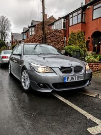 BMW 3.0L 525D M Sport Touring 2007. ##£6500## Loads of Service​ history