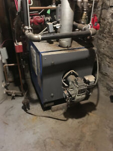 OIL Fired Hot Water Furnace