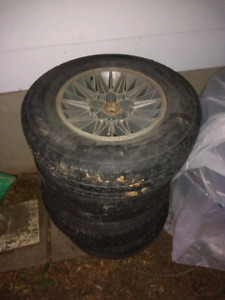 4 Chrysler 5-bolt rims