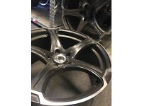 "19"" alloy wheels Alloys Rims tyres tyres 5x112 Mercedes seat skoda Vw Volkswagen"