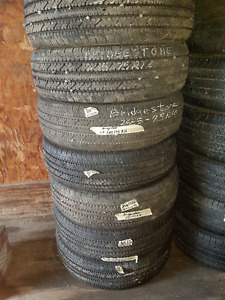 SET OF 4 ALL SEASON TIRE LT245/75R16