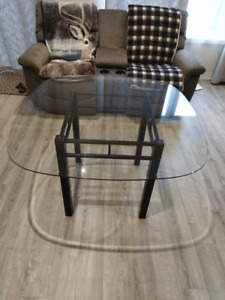 Bowring Glass Dining Table