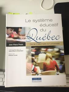 Le système éducatif du Québec : De la maternelle à l'université