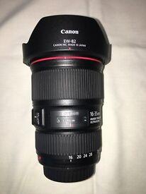 Canon EF 16-35 mm f/4L IS USM lens