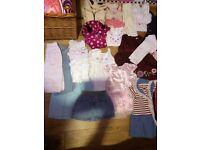 Baby girl Bundle clothes