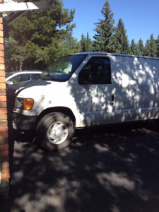 2007 Ford E-250 Van - Truck Mount Carpet Cleaning Unit & Equip