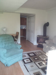 Lacombe, furnished basement suite
