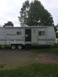 terry travel trailer 27'