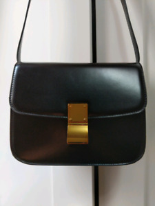 "Black ""Celine classic box"" INSPIRED bag purse"