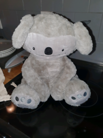 Never used weighted soft teddy for anxiety/autism