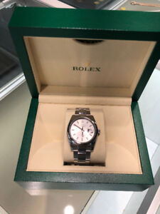 Rolex Datejust 36mm, Silver Dial