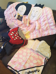 Baby blanket and carrier