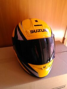 SUZUKI GSXR HELMET M & L MADE BY SHOEI DOT & SNELL APROVED TINT