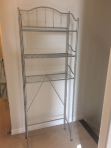 Great Deal!!!! Bathroom over toilet storage stand.