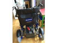 Electric disability wheelchair