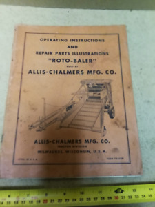 ALLIS-CHALMERS ROTO-BALER MANUAL