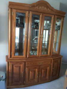 Buffet, Hutch & Hall Table