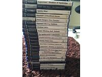 Various Sony ps2 games for sale