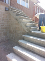 REPAIRS RESTORATIONS TO CONCRETE STAIRCASES AND FOUNDATION WALLS