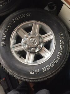 REDUCED - Ram Longhorn Rims and Tires Kawartha Lakes Peterborough Area image 1